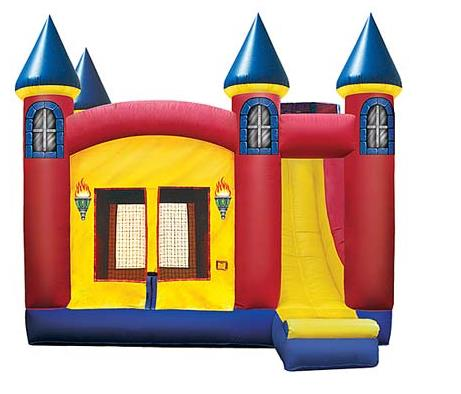 Where to find INFLATABLE 4 1 COMBO W  SLIDE in Mount Pleasant