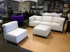 Where to rent FURNITURE, 5 PIECE SECTIONAL COUCH WHITE in Mount Pleasant MI