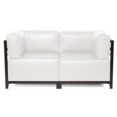 Where to rent FURNITURE, 2 PIECE LOVE SEAT WHITE in Mount Pleasant MI