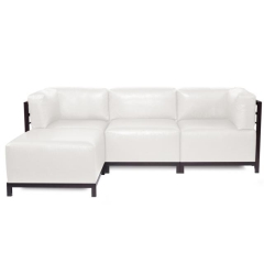 Where to rent FURNITURE, 4 PIECE SECTIONAL COUCH WHITE in Mount Pleasant MI
