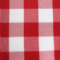 Where to rent RED WHITE POLY CHECK LINEN in Mount Pleasant MI