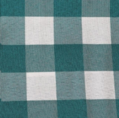 Where to rent TEAL WHITE POLY CHECK LINEN in Mount Pleasant MI