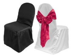 Where to rent SPUN POLY UNIVERSAL CHAIR COVER in Mount Pleasant MI