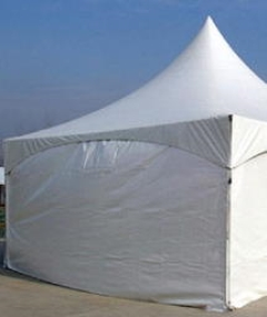 Where to rent TENT, SIDE WHITE SOLID 8  H X 20  L in Mount Pleasant MI
