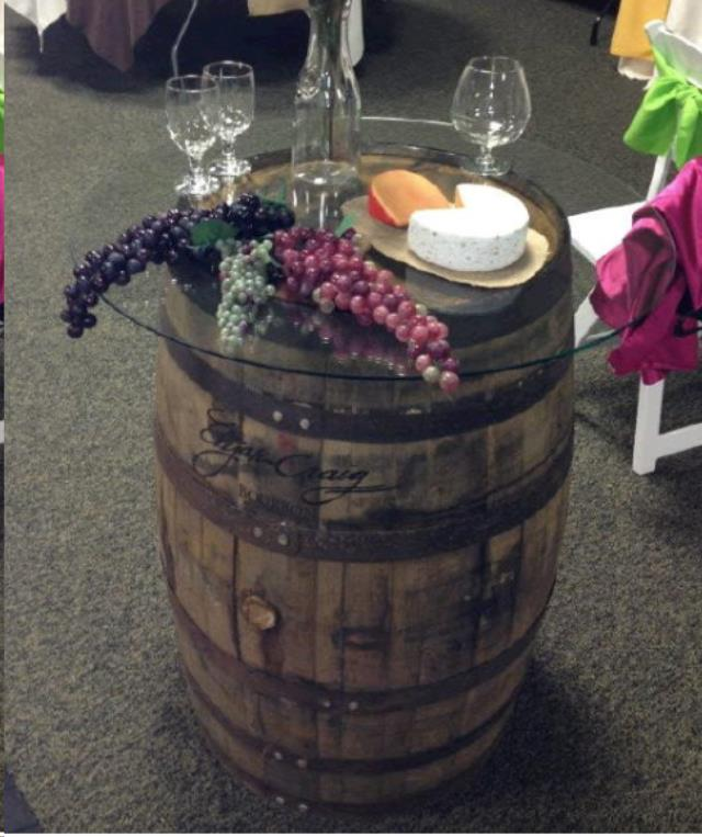 Where to find BARREL W  GLASS TOP in Mount Pleasant