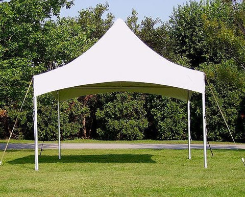 10 Foot Wide Sparkling White Frame Tents Rentals Mount