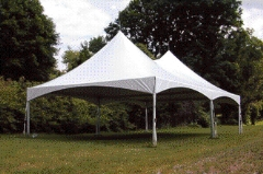 Where to rent 20  WIDE SPARKLING WHITE FRAME TENTS in Mount Pleasant MI