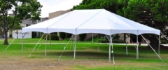 Where to rent 30  WIDE SPARKLING WHITE FRAME TENTS in Mount Pleasant MI