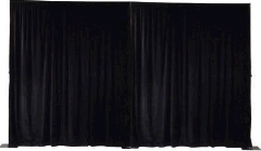 Where to rent PIPE   DRAPE 8  WALL BNJ BLACK 10 -170 in Mount Pleasant MI
