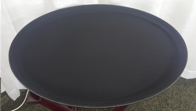 Where to find TRAY, WAITER SERVING 27 X22  OVAL BLACK in Mount Pleasant