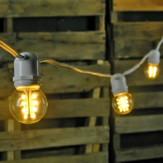 2 Inch Cafe Perimeter Tent Lights 30 Foot W Rentals Mount