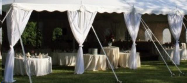 Side Pole Cover Pkg 10 Foot 20 Foot Wide Tents Rentals