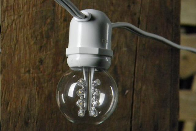 2 Inch Cafe Over Head A Tent Lights 40 60 Foot W Rentals