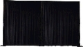 Where to rent PIPE   DRAPE 8 -12  WALL BLACK 10 -170 in Mount Pleasant MI