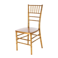 Where to rent GOLD CHIAVARI CHAIR in Mount Pleasant MI