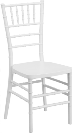 Where to rent WHITE CHIAVARI CHAIR in Mount Pleasant MI